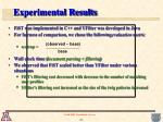 experimental results26