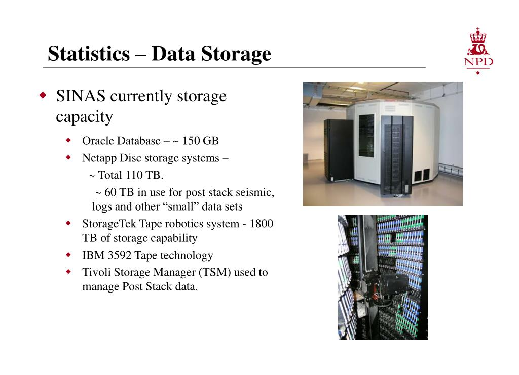Statistics – Data Storage
