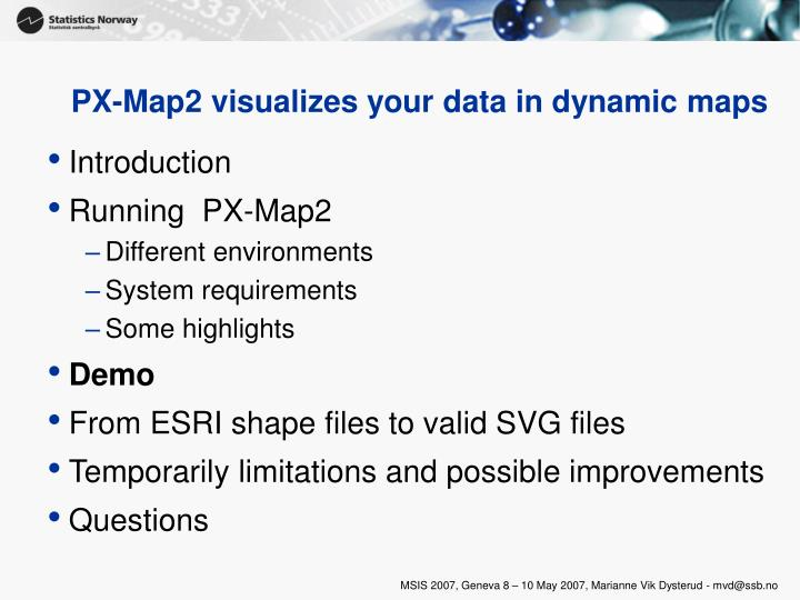 Px map2 visualizes your data in dynamic maps2 l.jpg