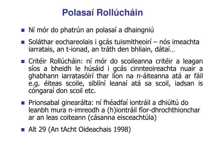 Polasaí Rollúcháin
