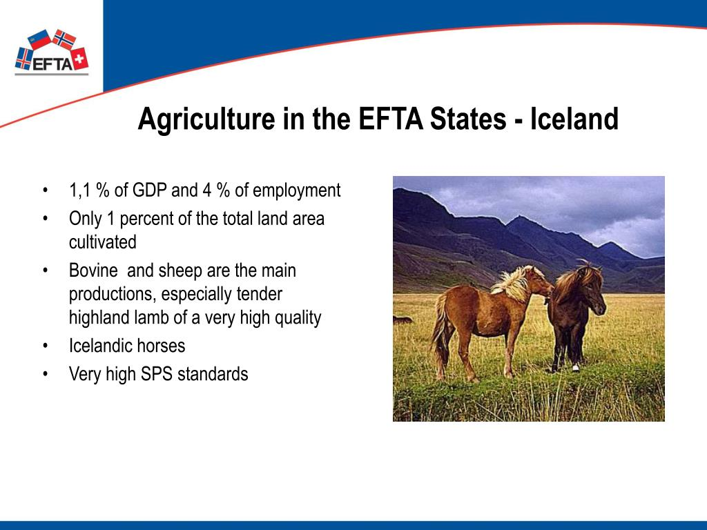 Agriculture in the EFTA States - Iceland