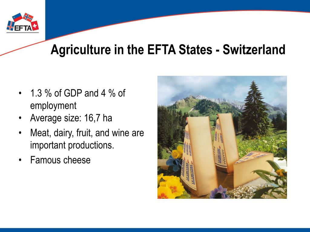 Agriculture in the EFTA States - Switzerland