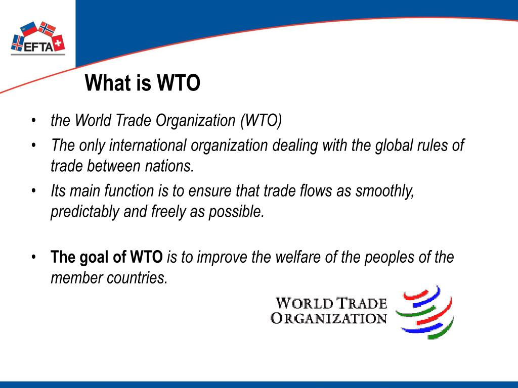What is WTO