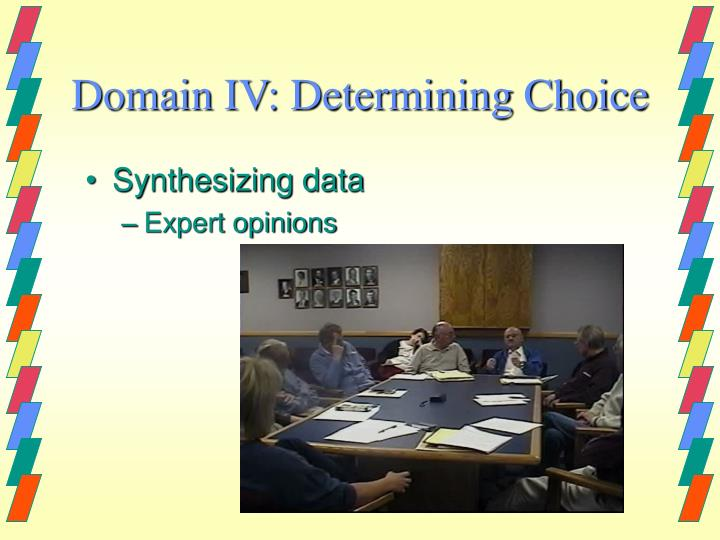 Synthesizing data