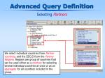 advanced query definition16