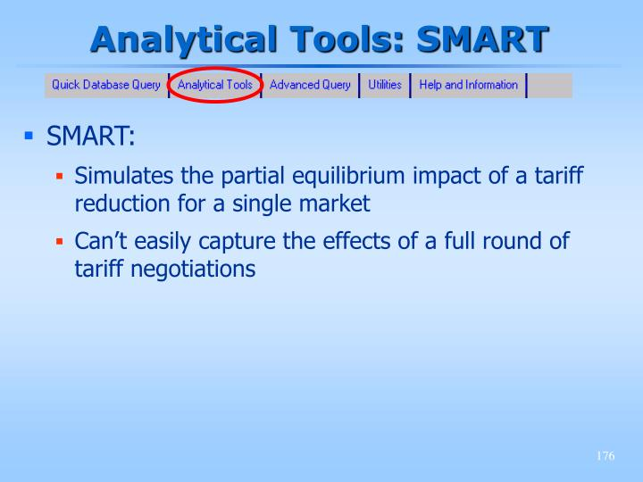 Analytical Tools: SMART