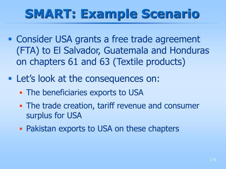 SMART: Example Scenario