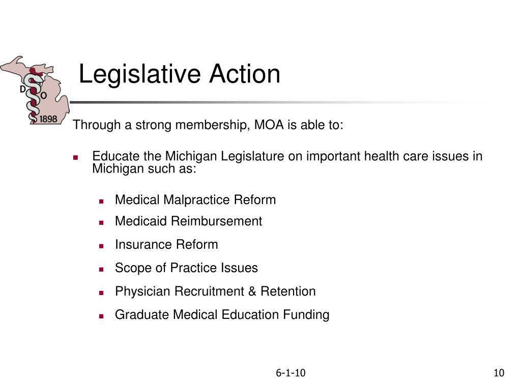 Legislative Action