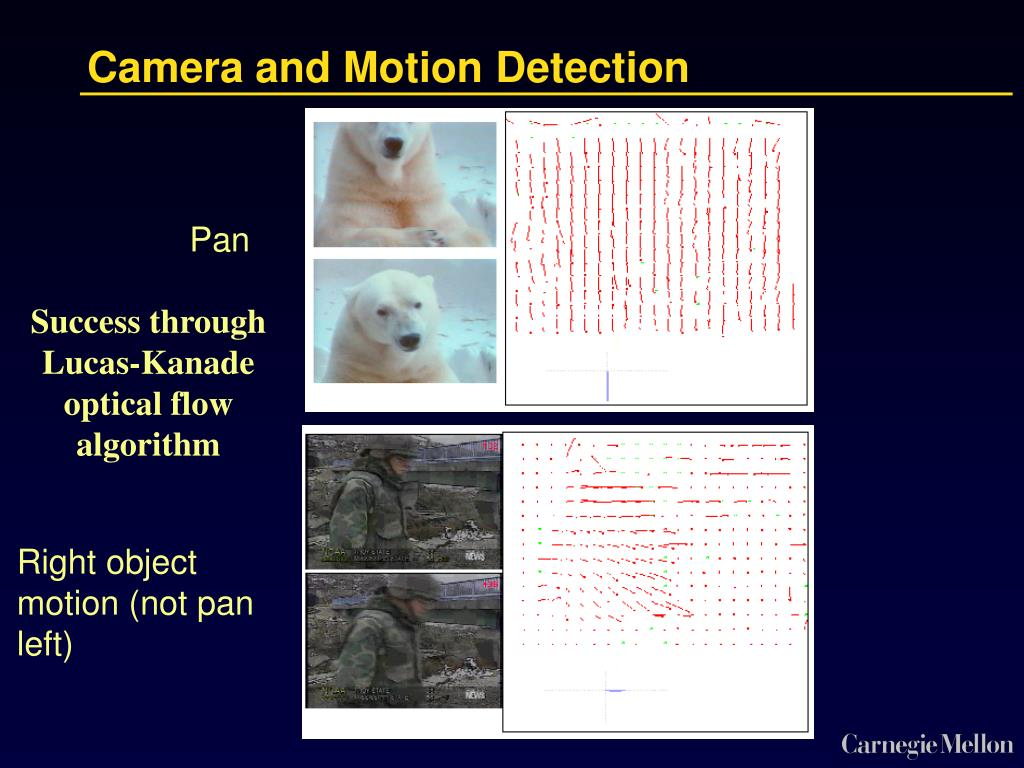 Camera and Motion Detection