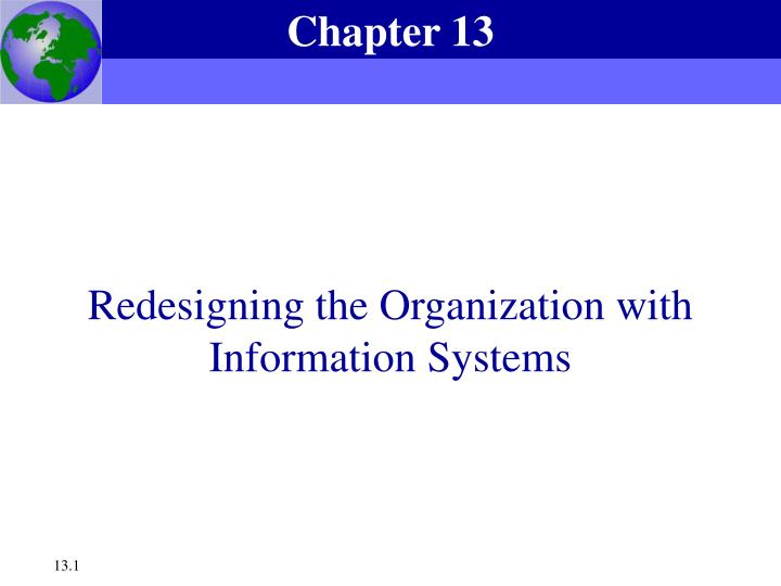 Redesigning the organization with information systems l.jpg