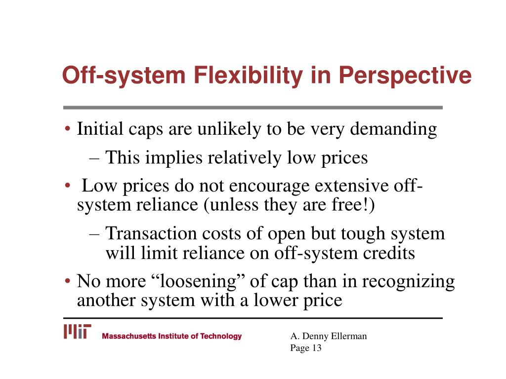 Off-system Flexibility in Perspective