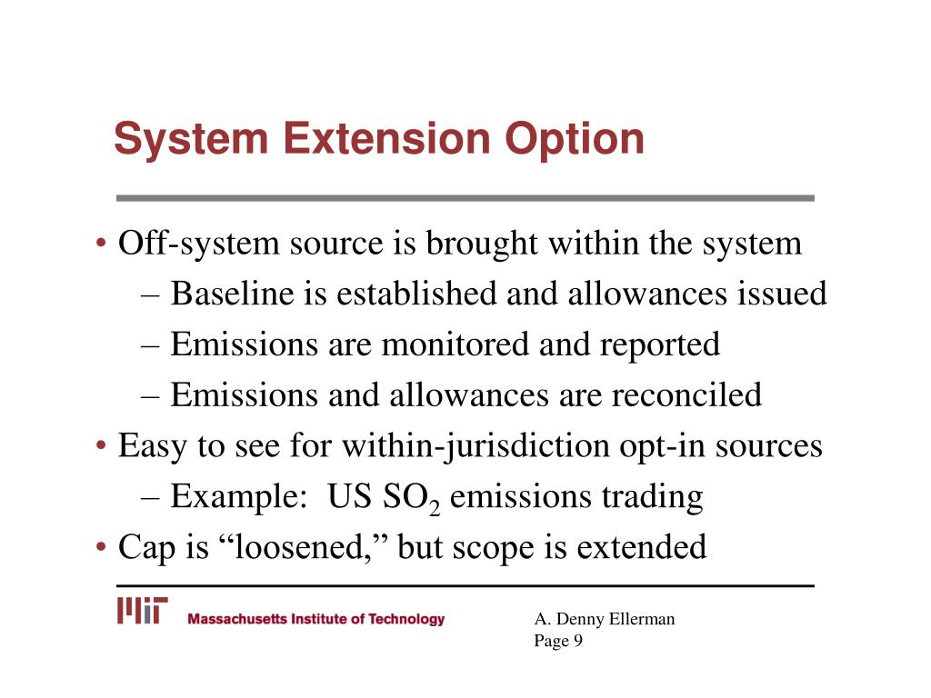 System Extension Option