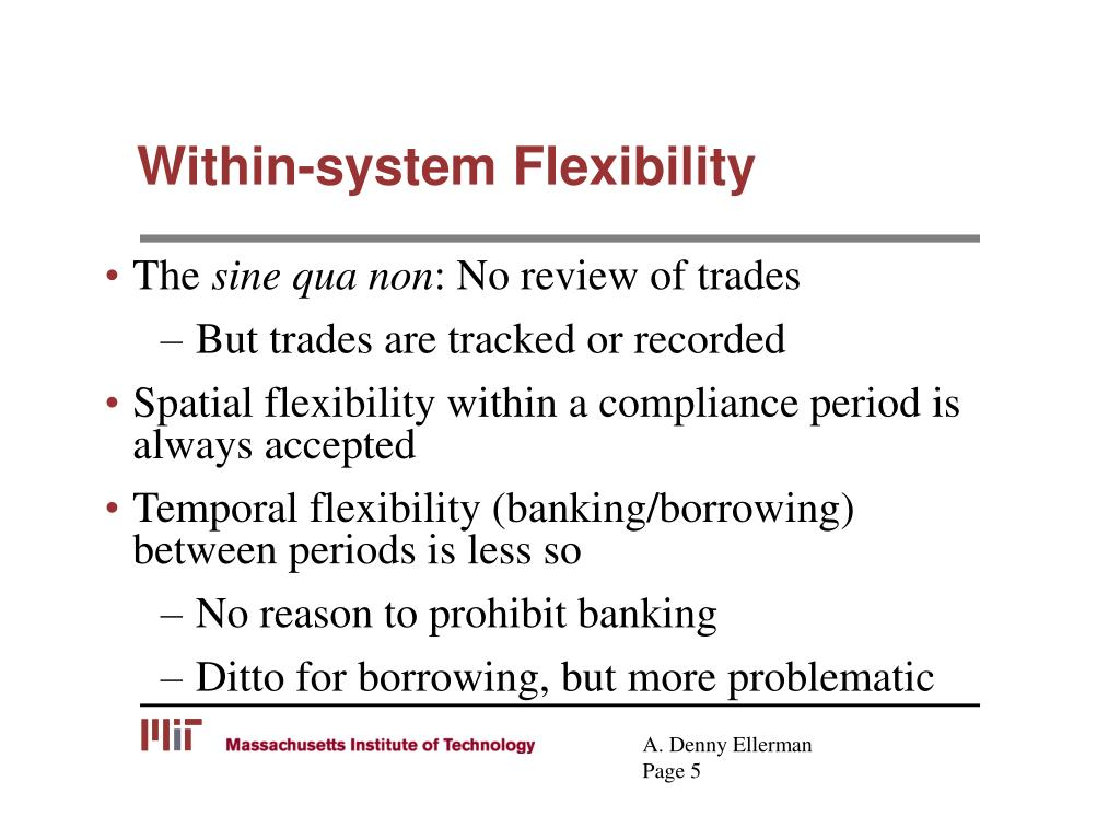 Within-system Flexibility