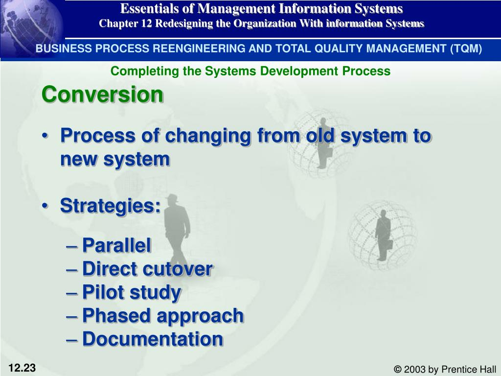 Essentials of Management Information Systems