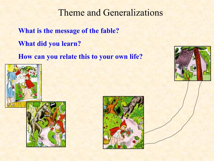 Theme and Generalizations