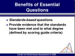 benefits of essential questions75