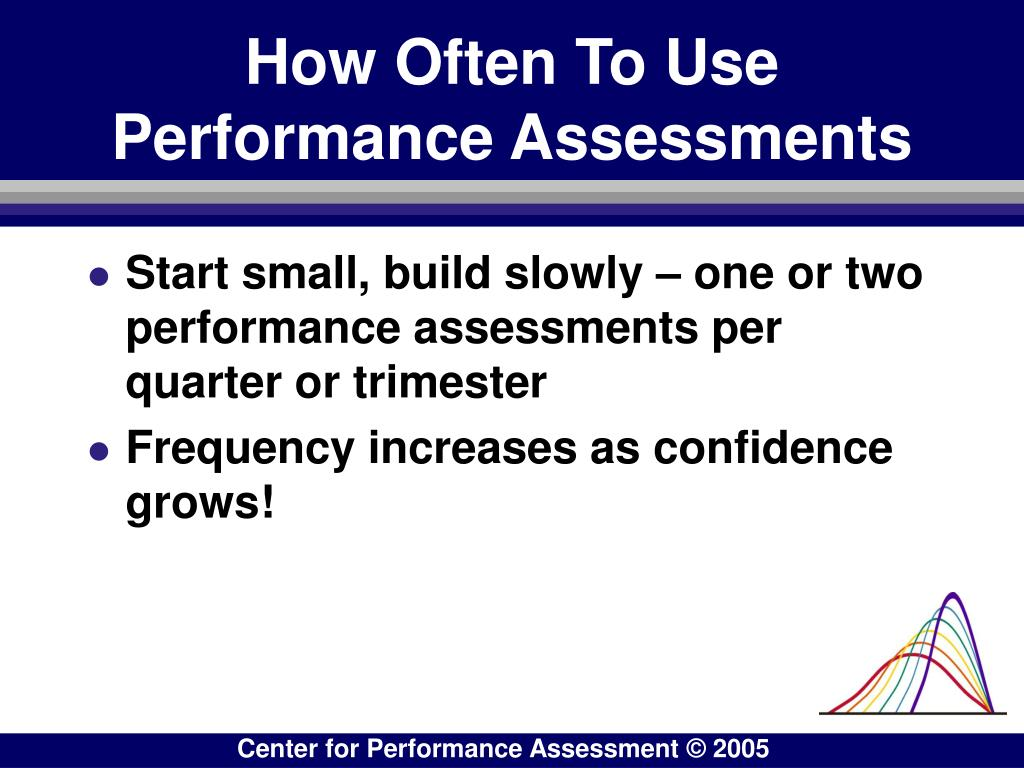 How Often To Use Performance Assessments