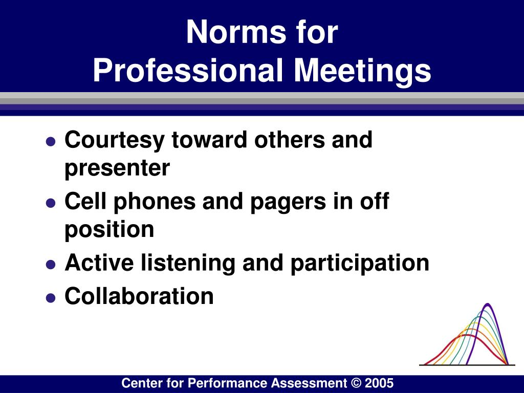 Norms for