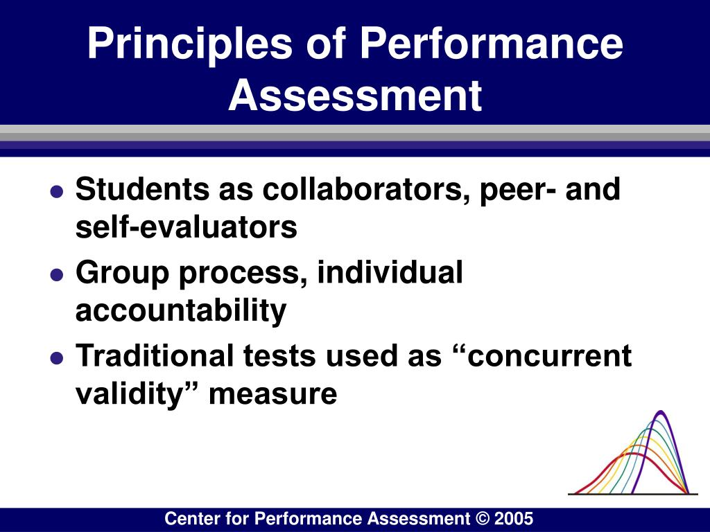 Principles of Performance Assessment