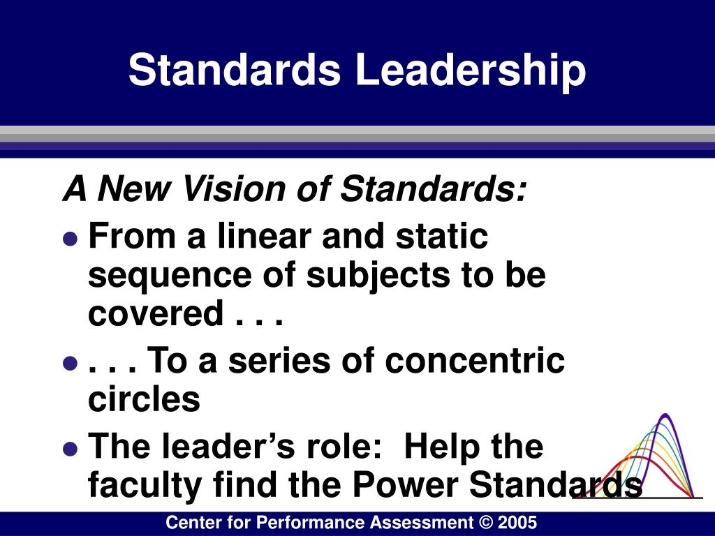 Standards Leadership