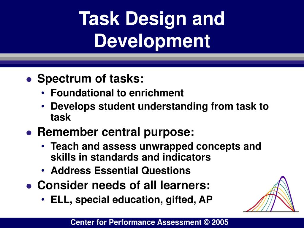 Task Design and Development