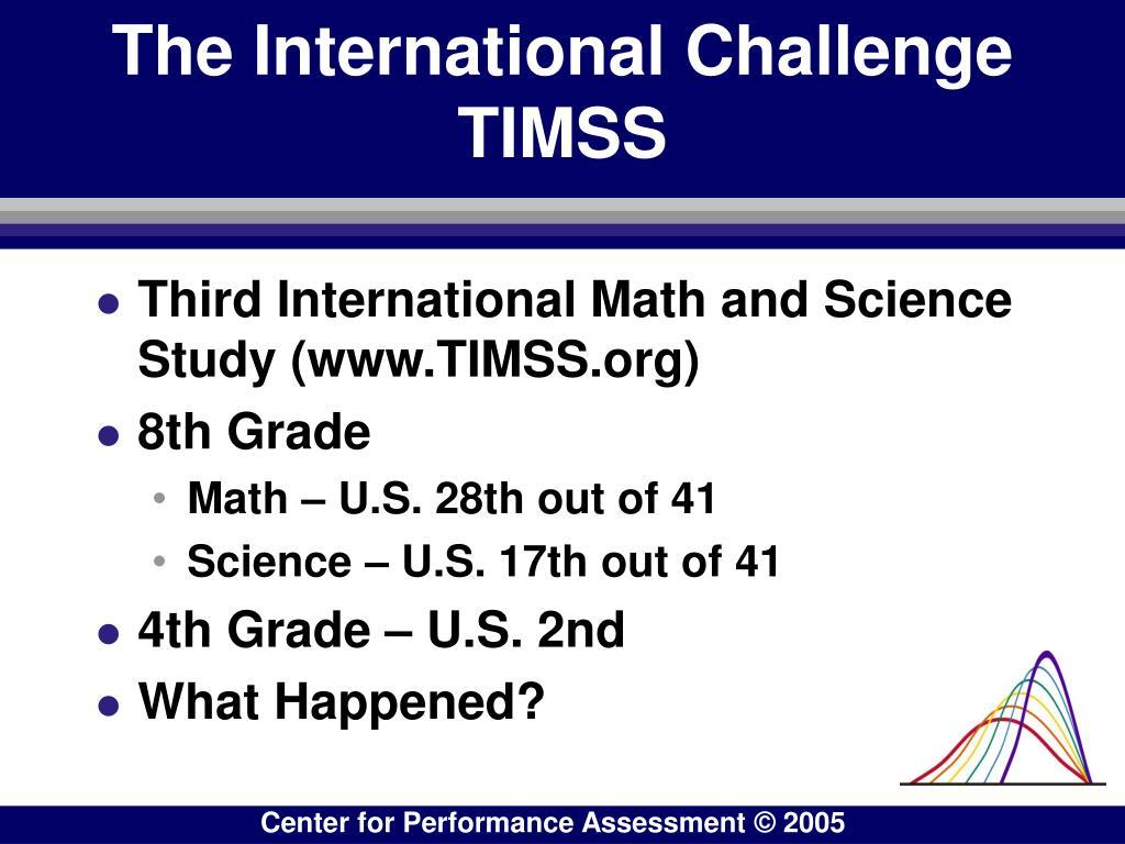 The International Challenge