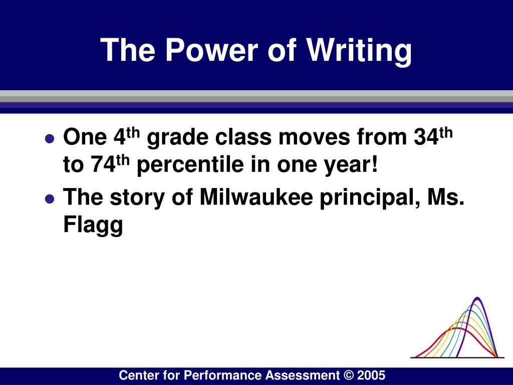 The Power of Writing