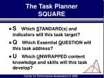 the task planner square102