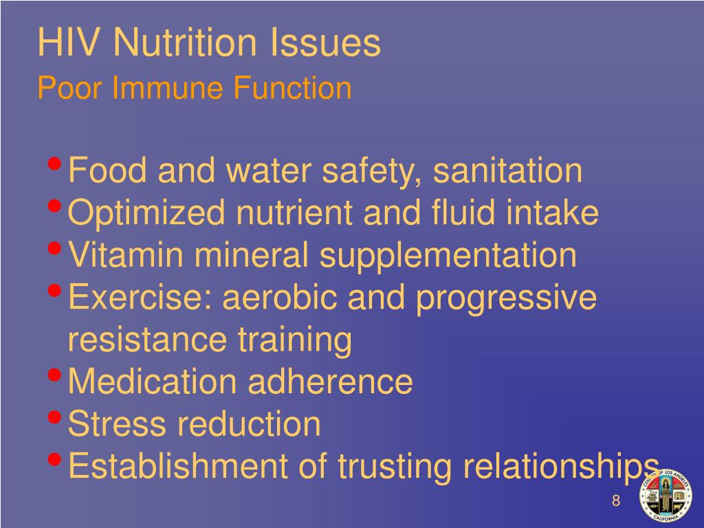 HIV Nutrition Issues