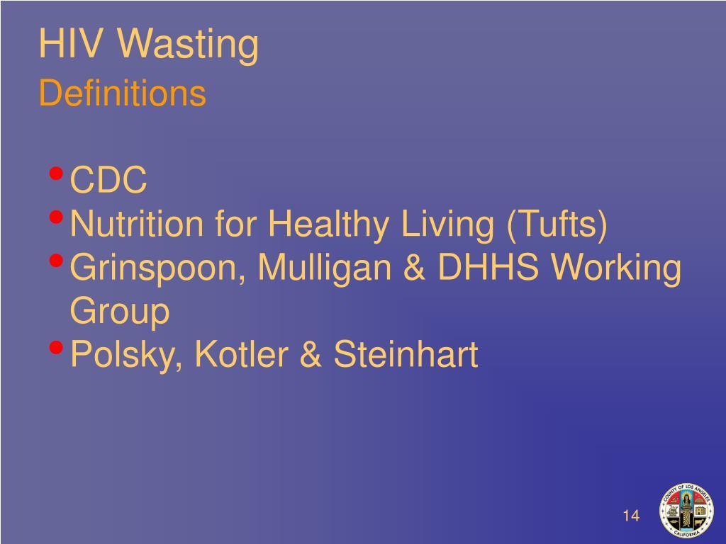 HIV Wasting