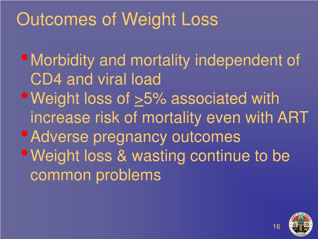 Outcomes of Weight Loss
