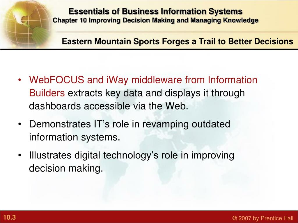 WebFOCUS and iWay middleware from Information Builders