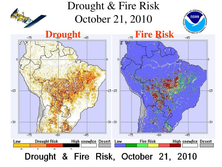 Drought & Fire Risk