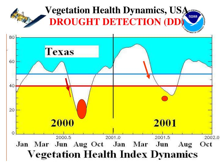 Vegetation Health Dynamics, USA