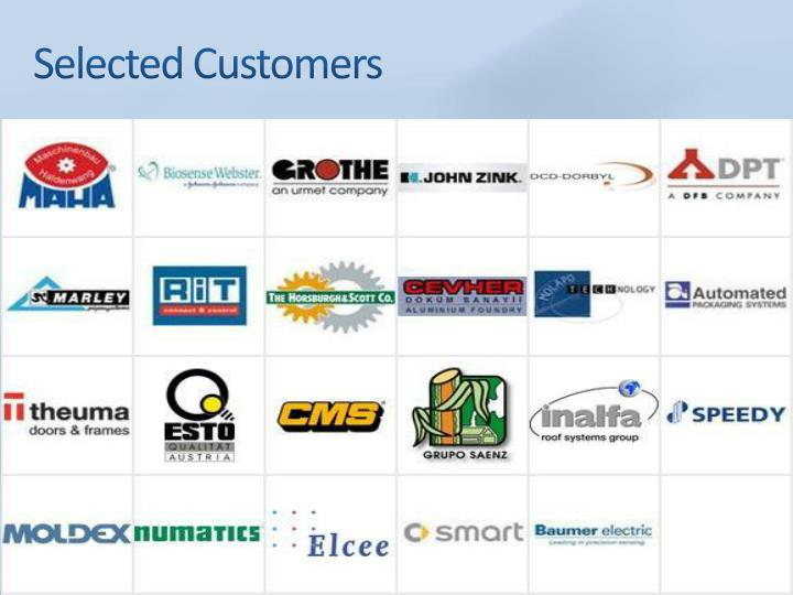 Selected Customers