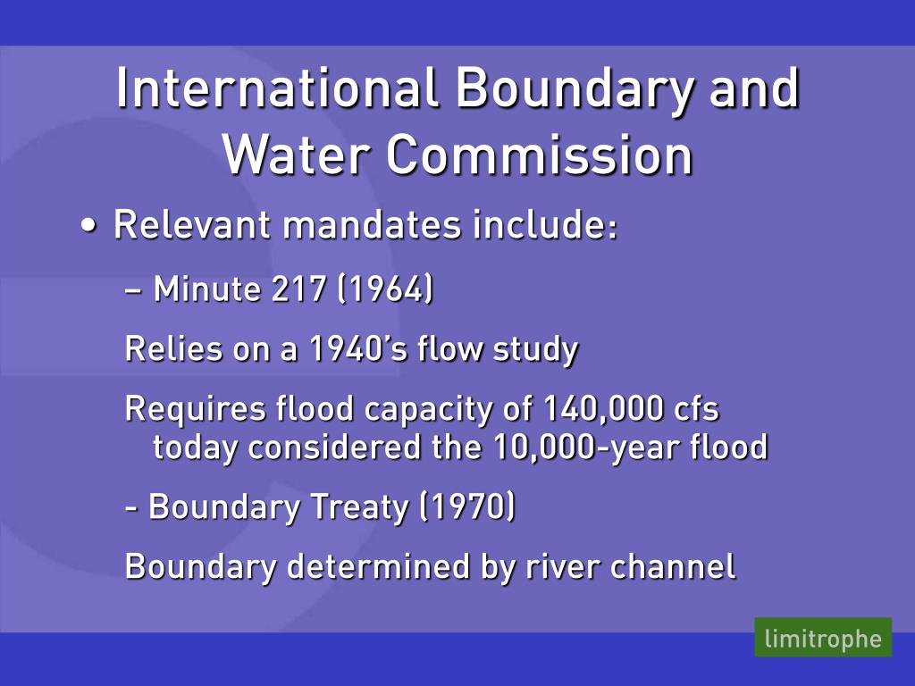 International Boundary and Water Commission