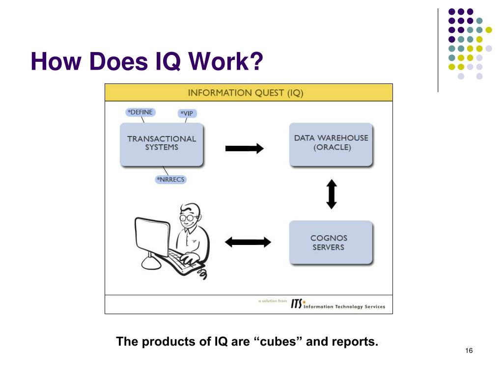 How Does IQ Work?