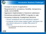 introduction business challenges