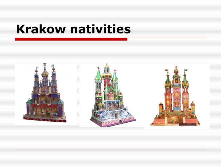 Krakow nativities