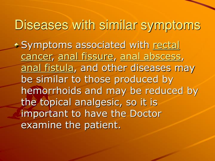 Diseases with similar symptoms