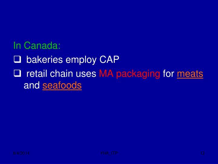 In Canada: