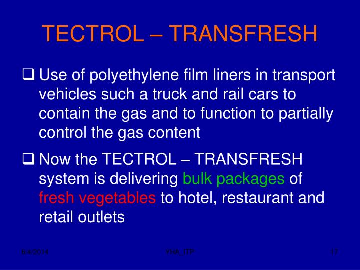 TECTROL – TRANSFRESH