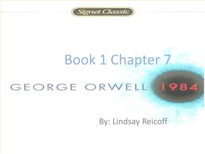 Book 1 Chapter 7