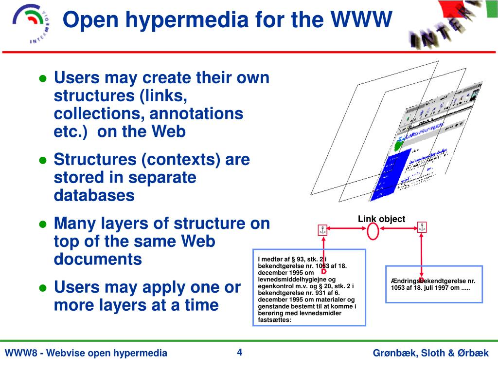 Open hypermedia for the WWW