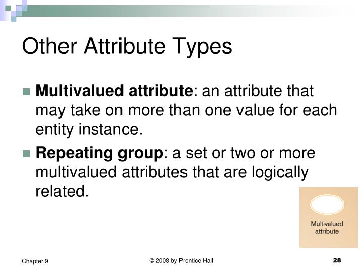 Other Attribute Types