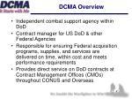 dcma overview