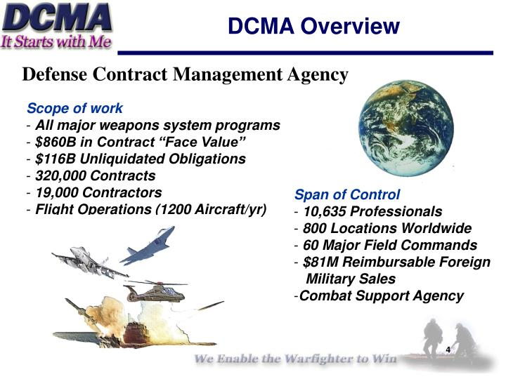 DCMA Overview