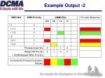 example output 2
