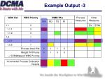 example output 3