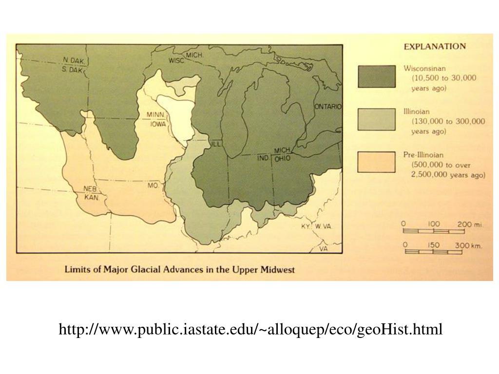 http://www.public.iastate.edu/~alloquep/eco/geoHist.html